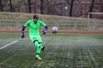 Brankář Vladimír Pecha tentokrát žádný gól nedostal a Těšín vyhrál 4:0.
