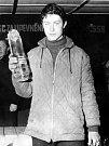 Milan Nezhoda, vítěz 1. ročníku Československého poháru v cyklokrosu v kategorii starších dorostenců. Psal se rok 1966. Nezhoda k tomu přidal i bronz z Mistrovství ČSSR v cyklokrosu téže kategorie v Rokycanech.