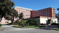 Nemocnice s poliklinikou Karviná-Ráj.