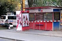 Tady to začalo. Snímek stánku v Havířově-Šumbarku z 6. 9. 2012, kdy celníci a hygienici zahájili první šťáru, která se rozvinula do rozsáhlé kauzy přesahující hranice republiky.