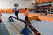 Halová soutěž mladých hasičů v požárním sportu v Havířově 2017.
