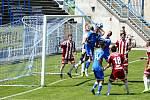 Havířovští fotbalisté se s domácími fandy loučili výhrou nad Bruntálem.
