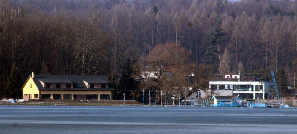 Těrlicko, rekreační střediska u přehrady