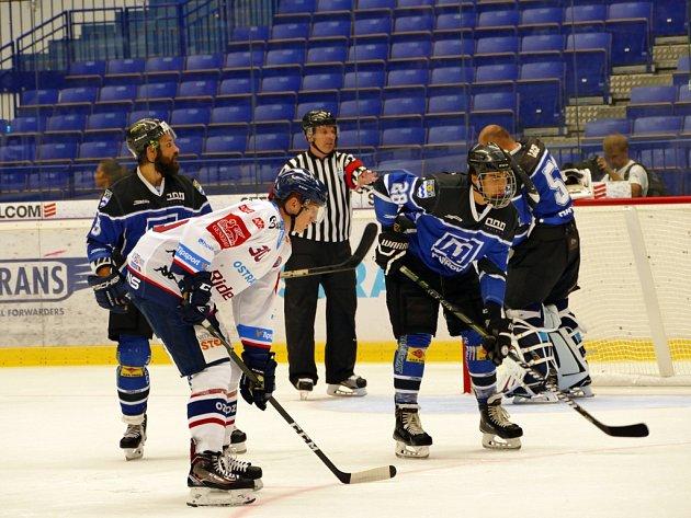 Přípravné utkání HC Vítkovice Ridera - AZ Havířov.