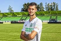 Christián Herc - nová posila fotbalové Karviné.