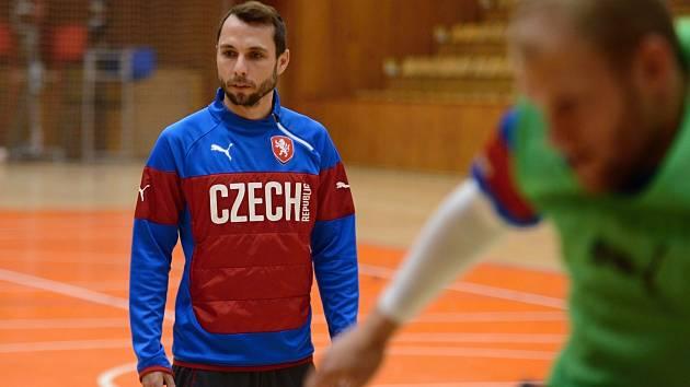 Futsalista z Havířova Jan Janovský na srazu české reprezentace.