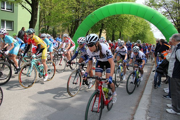 Cyklistky na Gracii.