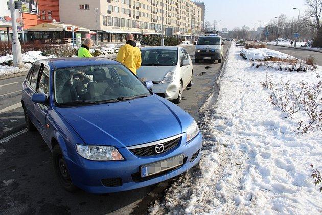 Opilá řidička v Havířově ujížděla od nehod.