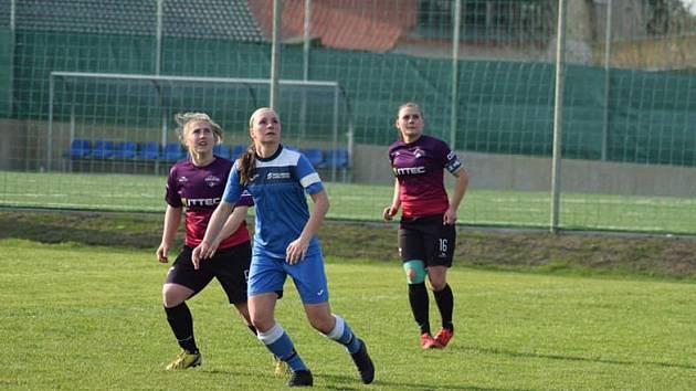Fotbalistky Havířova uspěly v Brušperku.