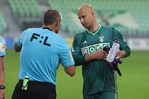 Brankář fotbalistů Karviné Petr Bolek.