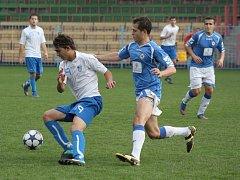 Havířovští fotbalisté doma remizovali s Přerovem.