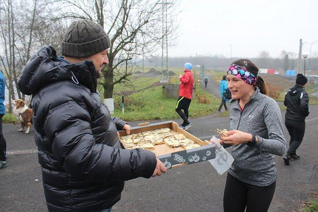 Pátý ročník amatérského běhu Od mostu kmostu mezi Koukolnou a Darkovem, Karviná 13.prosince 2020.