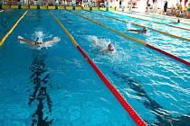 Karvinský motýlkářský trojboj přilákal na start tři stovky plavců.