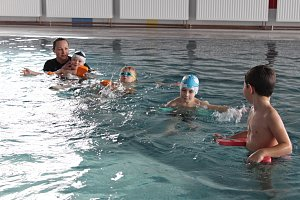 Opravený bazén Delfínek v Havířově