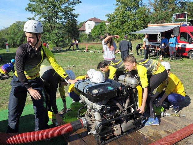 Sbor dobrovolných hasičů Havířov-Město hostil v sobotu dopoledne účastníky 11. kola Mládežnické ligy okresu Karviná (M.L.O.K.).