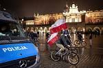 Polsko. Ilustrační snímek. V polském Krakově pokračují protesty proti rozhodnutí ústavního soudu, které v Polsku zavádí téměř úplný zákaz potratů.
