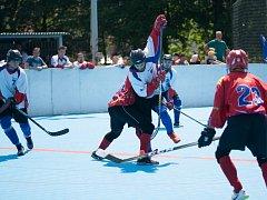Hokejbalisté Karviné zvládli obě víkendová utkání s Jihlavou.