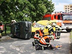Námětovým cvičením a výstavou nazvanou Od historie po současnost oslavili rychvaldští dobrovolní hasiči 120. let své existence.