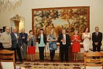 Karviná ocenila 10 osobností, které se ve  městě podílejí na rozvíjení kulturní činnosti.