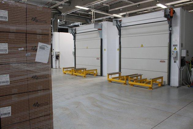 Továrna Mölnlycke vHavířově-Dolní Suché. Sterilizační bosy.