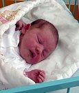 Tamara Sommer z Karviné, narozena 16. 8. Váha 3190 g, míra 49 cm. Maminka Barbora Sommer.
