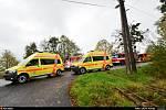 Nehoda dvou osobních automobiů v Šenově si vyžádala zranění sedmi osob.