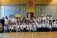 Sbor přátel zpěvu a Komorní mužský sbor bodovali v polském Krakově a přivezli dvě zlatá a jedno stříbrné umístění.