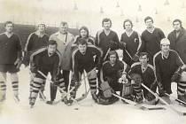 Historické fotografie z hokeje v Orlové.