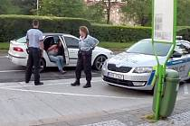 Policisté zastavili zdrogovanou řidičku v centru Havířova.