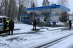 V pondělí ráno byla přepadena čerpací stanice EO ve Frýdecké ulici.