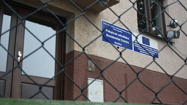 Cizinci nacházejí dočasný azyl ve středisku v Havířově-Dolní Suché.