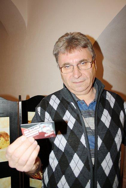 Jan Filip, vítěz TIP ligy.