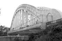 Most Sokolovských hrdinů po generální rekonstrukci.