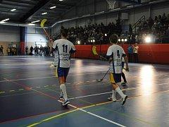 Nová sportovní hala v Bohumíně.