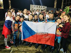 Taneční škola Horizonty vzorně reprezentovala na Světovém poháru v disco dance a disco freestyle.