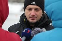 Trenér Karviné Jozef Weber.