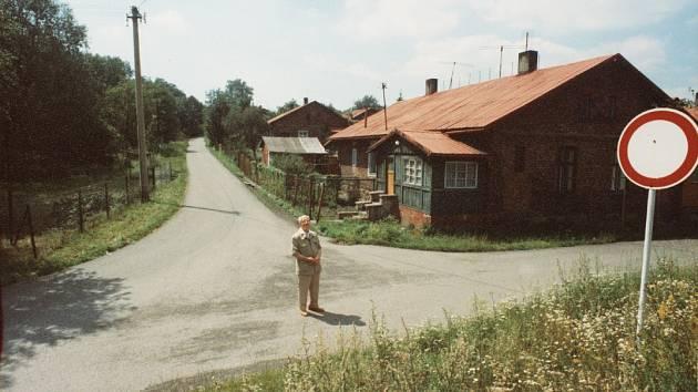 Kolonie s dědečkem Mirkem.