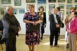 Jubilejní výstava Františka Procházky v Šenově.