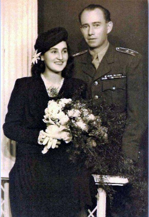 Svatba v roce 1947.