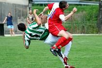 Karvinští fotbalisté se na úvod turnaje potkali s Orlovou a prohráli.