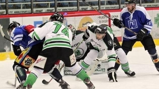 Hokejisté Havířova neměli v Boleslavi šanci.