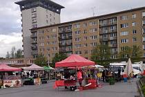 Havířovské farmářské a rukodělné trhy, náměstí Republiky, 7. května 2021.