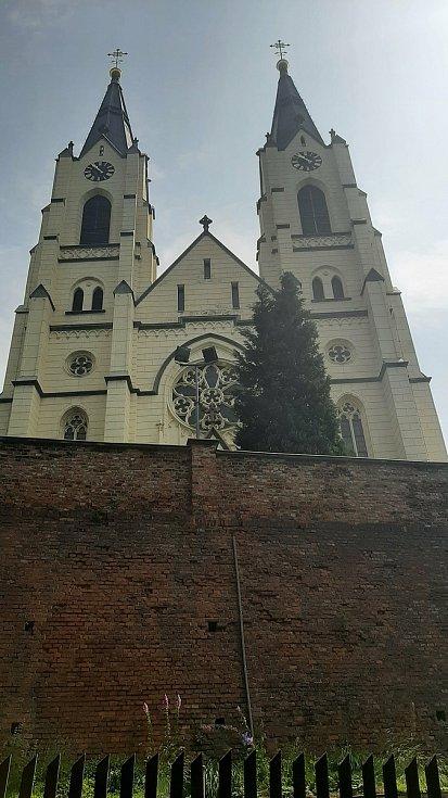Orlová-Město. Kostel.