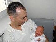 Eliáš Roudenský se narodil 22. ledna mamince Janě Fabiánové z Karviné. Po narození miminko vážilo 3540 g a měřilo 50 cm.