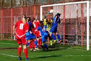 Fotbalistky Havířova zdolaly v poháru Olomouc.