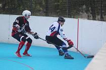 Hokejbalisté začnou koncem měsíce zase hrát extraligu.