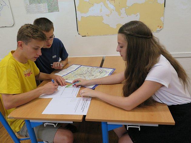 Školáci se účastnili soutěže Naše město Havířov.