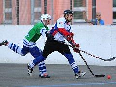 Hokejbalisté si na prvoligovou úroveň po sestupu z extraligy zvykli rychle.