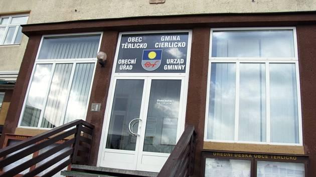 Radnice v Těrlicku.