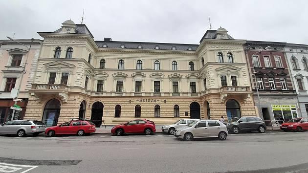 Zrekonstruovaná budova Muzea Těšínska.